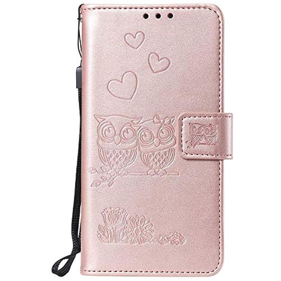 委員会丈夫フレキシブルCUNUS Galaxy S6 防塵 ケース, 高品質 合皮レザー ケース 軽量 スタンド機能 耐汚れ カード収納 カバー Samsung Galaxy S6 用, ローズゴールド