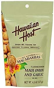 ハワイアンホースト・ジャパン マウイオニオン&ガーリックマカデミアナッツ スタンドアップバック 127g