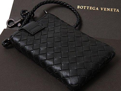 ボッテガヴェネタ BOTTEGA VENETA iphoneケース イントレチャート ブラック [並行輸入品]