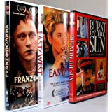 GREAT MOVIES ABOUT STALIN 'S EPOCH [ BURNT BY THE SUN / EAST-WEST / FRANZ & POLINA ][SET OF 3 DVD][ALL REGION/ENGLISH SUBTITLES] by Nikita Mikhalkov