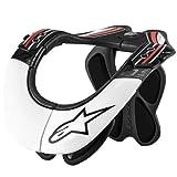 Alpinestars アルパインスターズ BNS Pro プロ ネックブレイス 黒白赤/L-XLサイズ