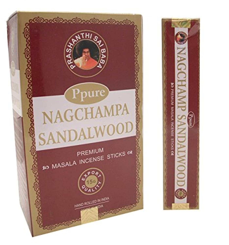 Ppure Nag ChampaプレミアムMasalaお香サンダルウッド