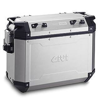 GIVI (ジビ) サイドケース 37L 左右セット シルバー アルミ製 TREKKER OUTBACKシリーズ OBKN37APACK2 98492