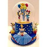 100周年記念?限定版★Disney Musical Birthday Water Globe ディズニーミュージカル ウォーターグローブ Hallmark Disney社【並行輸入】