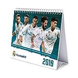 レアルマドリード(Real Madrid) オフィシャル 2018 卓上 カレンダー