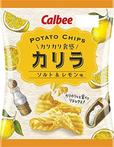 カルビー Potatochipsカリラ ソルト&レモン味 60g×12袋