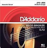 Best ダダリオアコースティックギター - 【3セット】 D'Addario ダダリオアコースティックギター弦 EJ-12 〔np〕【Ebiオリジナルピック付】 Review