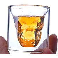 Bartram スカル カップ 頭蓋骨 ガラスカップ デュアル使用 100ML