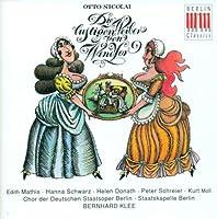 Nicolai: Die lustigen Wieber von Windsor (The Merry Wives of Windsor) by Nicolai Otto (1993-07-23)