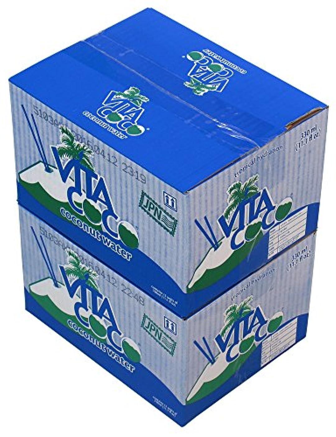 熟達した飼料一月Vita Coco(ビタココ) ココナッツウォーター 12本入り×2ケース