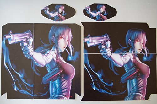 EBTY-Dreams Inc. - Sony Playstation 4 (PS4) - Black Lagoon Anime Girl Revy Rebecca Vinyl Skin Sticker Decal Protector by EBTY-Dreams Inc. [並行輸入品]