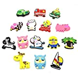 Zicome Set of 15 Cute Cartoon Refrigerator Magnets for Posting Notes and Photos on Your Fridge or Other Magnetic Surface by ZICO