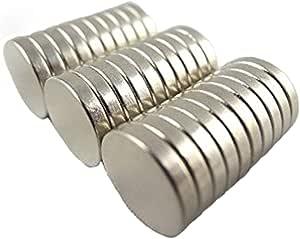 【世界最強マグネット! N50 ネオジウム ネオジム 磁石 30個セット!10mm×2mm 丸型】 強力磁石 マグネット まとめ買い