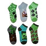 マインクラフト 靴下 6足セット/MINECRAFT Socks 6 Pack (M)