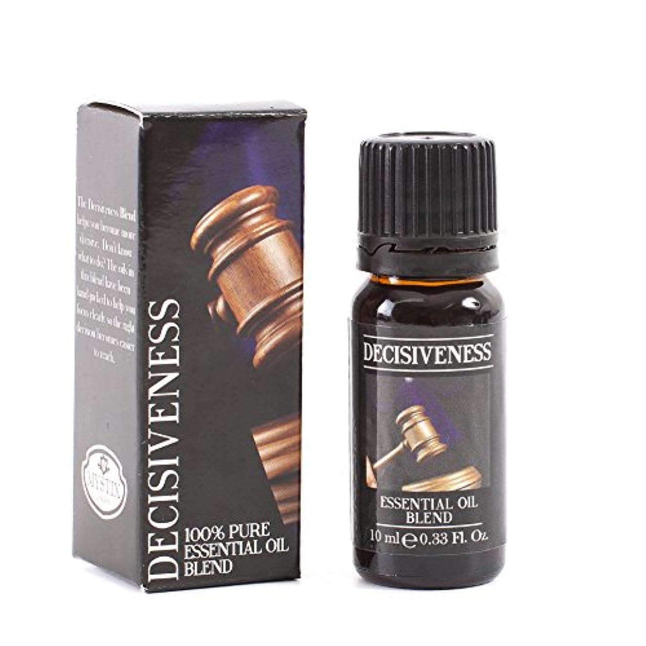 日帰り旅行にシャベルイブMystic Moments   Decisiveness Essential Oil Blend - 10ml - 100% Pure