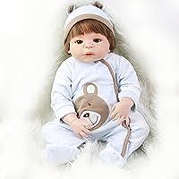 NPKリアルな23インチ人形Reborn Baby BoyモデルシリコンビニールフルボディLooks So Truly新生児赤ちゃん人形レッドスキンEthnic人形子供のベスト安全ギフト誕生日
