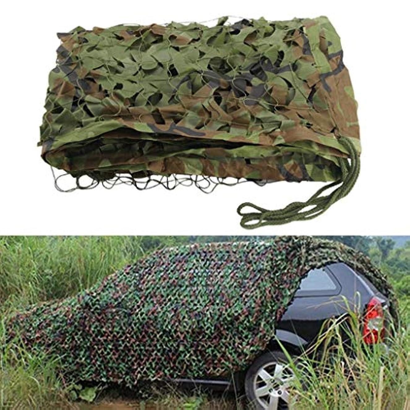 竜巻全能同じYNFNGXU 屋外のキャンプのために適した2M X 3Mオックスフォードの布の迷彩の網/迷彩カバー隠れる日焼け止め (サイズ さいず : 3x6m)