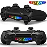 Hzjundasi LED ライトバーデカールステッカー肌 for PS4/PS4 Pro/PS4 Slim Controller Dualshock 4 #0201