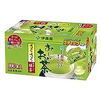 伊藤園 おーいお茶 抹茶入りさらさら緑茶 スティック 100本