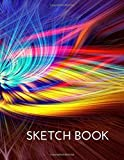 Sketch Book: a Large Journal with Blank Paper for Drawing, Writing, Painting, Sketching or Doodling | 121 Pages, 8.5x11 | Sketchbook Abstract Cover V.09 (8.5 x 11 Sketchbook Notebook)