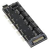 アイネックス RGB LED 5分岐/ファンPWM信号5分岐基板 RLD-SPL5FAN5