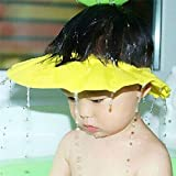 iBePro® Baby Safe Shampoo Shower Bathing Protection Soft Shower Cap Hat Wash Hair Shield for Children Kids to Keep The Water
