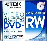 DRW120DPWA1A-D TDK DVD-RW 繰り返し録画用 CPRM対応