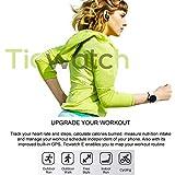 Ticwatch E超軽量スマートウォッチShadow アンドロイド・ウエア2.0搭载iOSおよびアンドロイド