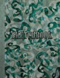 Sketchbook: Notebook for Sketching, Doodling, Painting, Drawing or Writing 8.5 x 11 100 Pages, 8.5 x 11 (Pretty Cute Abstract Cover Vol. 92) (Jolly Pockets Sketchbooks)