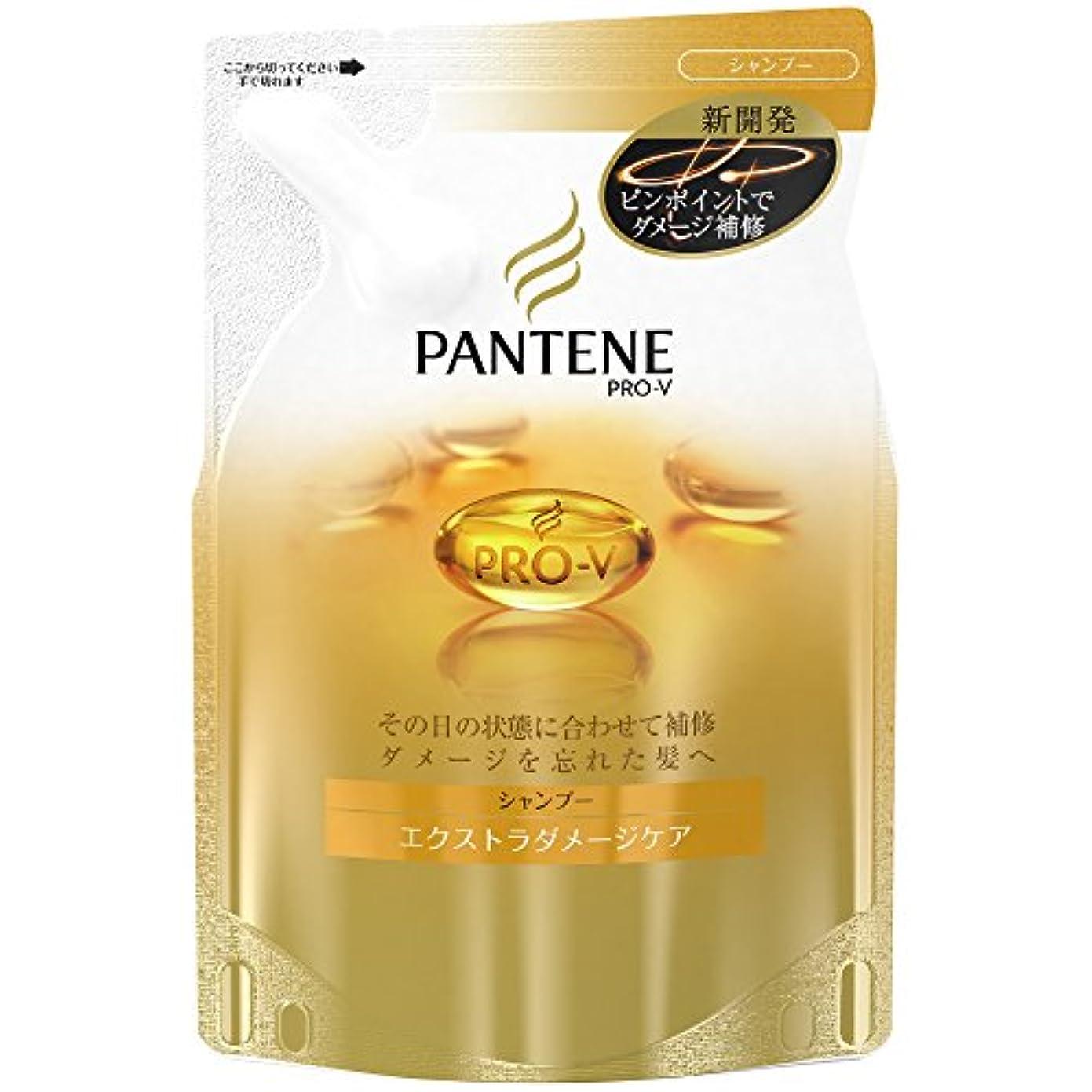 甘いデータベース攻撃パンテーン シャンプー エクストラダメージケア 詰替用 330ml