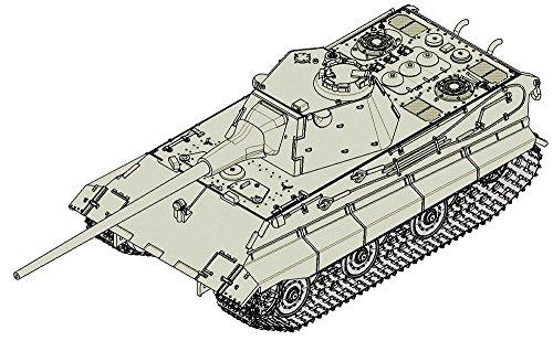 トランペッター 1/72 ドイツ軍 E-50中戦車 プラモデル 07123