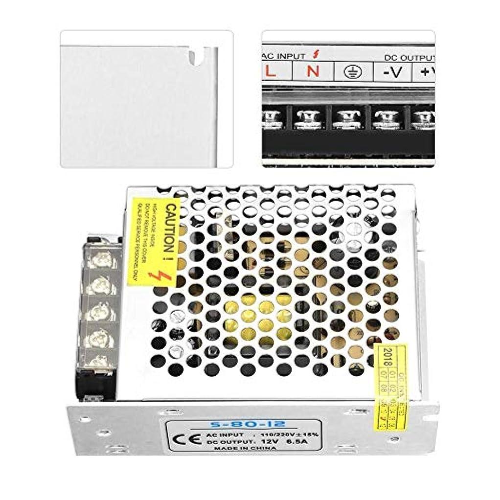依存する計器おじさん電源、DC12Vユニバーサルスイッチング電源LEDライト安定化電源6Aスイッチング電源