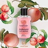 Handitizer AntiBacterial Hand Sanitizer with Aloe Vera & Vitamin E (Peach, 60ml)