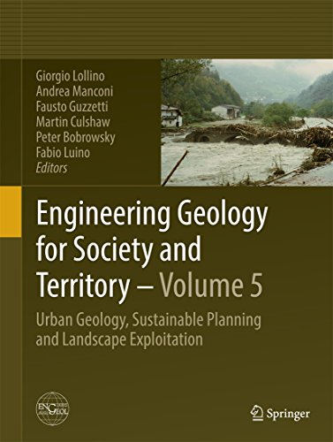 Engineering Geology for Society and Territory - Volume 5: Urban Geology, Sustainable Planning and Landscape Exploitation