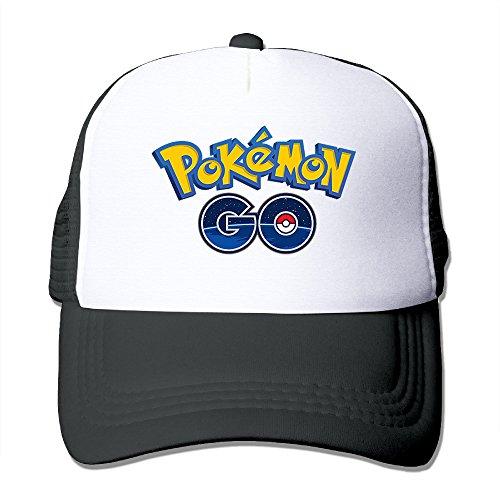 mydt1ユニセックスPokemon Go Classic Mesh Back Truckerキャップ帽子