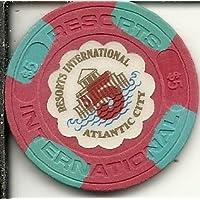 $ 5リゾートInternationalカジノチップAtlantic City Obsolete