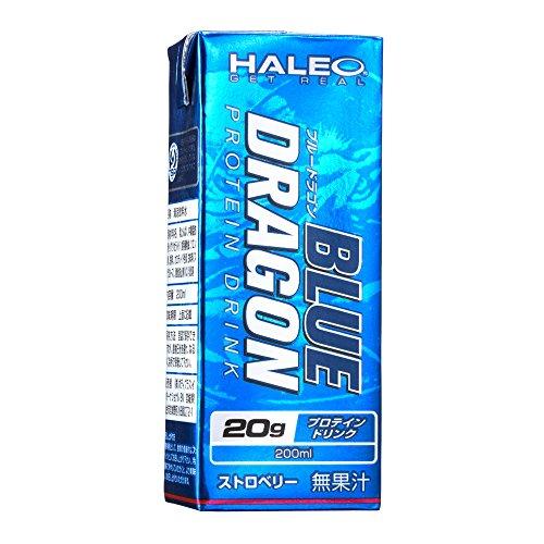 (HALEO) ブルードラゴン 1パック(200ml) x1ケース(24パック入り) ストロベリー