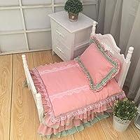 デラックス 犬 ベッド, テディ プリンセス ベッド ペットの巣 持続可能です 犬小屋, 柔らかい 快適 ペット寝具-I M