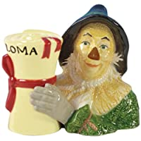 Salt & Pepper Shakers - The Wizard of Oz - Scarecrow & Diploma New 17219