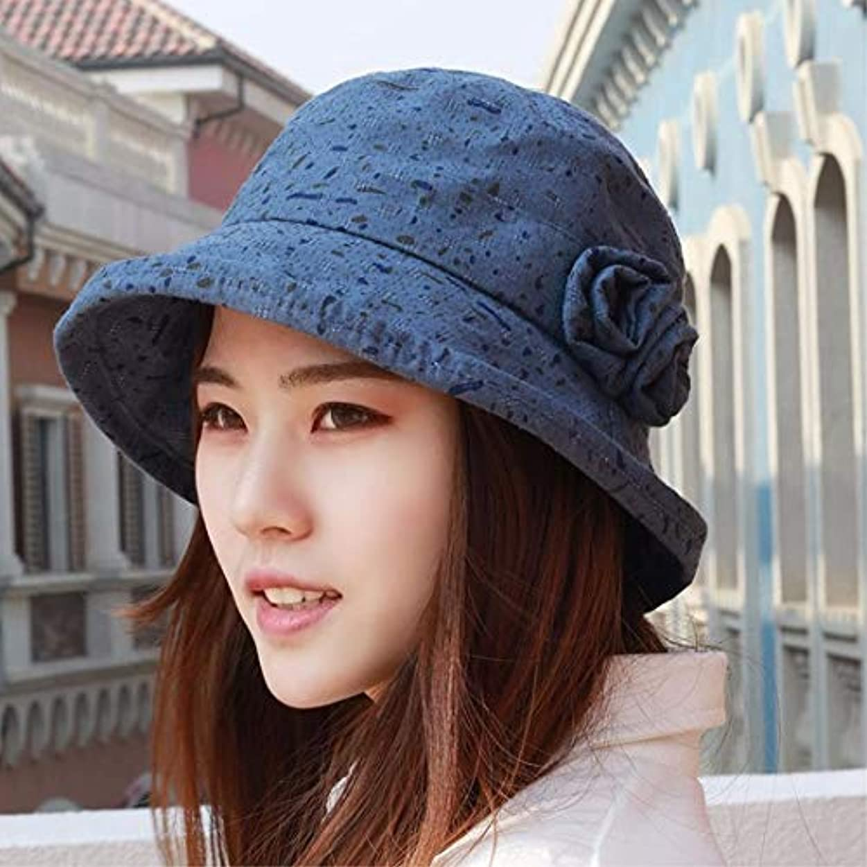 不従順本当にエッセンス34-maizhuoyuanlin 帽子女性春漁師帽子帽子太陽のヘルメット、画家の帽子、通気性の帽子、 (Color : O, サイズ : M)