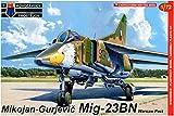 KPモデル 1/72 MiG-23BN ワルシャワ条約加盟国 プラモデル KPM0095