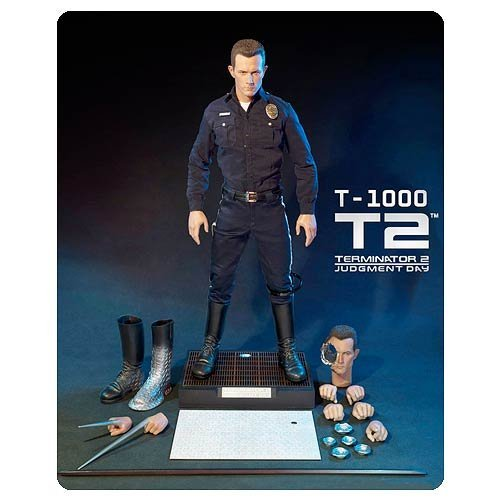 Terminator ターミネーター 2 Judgement Day T-1000 HD Masterpiece 1:4 Scale Figure [並行輸入品]