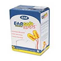 3M - E-A-Rsoft Blasts Earplugs, Corded, Foam, Yellow Neon, 200 Pairs/Box - Sold As 1 Box - Soft, smooth, nonirritating, self-adjusting advanced foam formula for the softest ear plug on the market. by 3M
