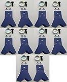 替刃 乗用モア用フリー刃「新形状」Wカット60 ボルト付 青 5組10枚 筑水 オーレック アグリップ 共立 マメトラ サンエース用
