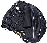 ZETT(ゼット) 野球 軟式 キャッチャーミット デュアルキャッチ 左投用 ブラック(1900) RH BRCB34812