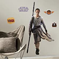 "RoomMates rmk3149gmスターウォーズEP VII Rey P & s Giant Wall Decal、28.6 "" Wide X 55 ""高"