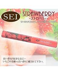 Strawberry(ストロベリー) お香 インド香 スティックタイプ 六角香 セイ香 HI-115