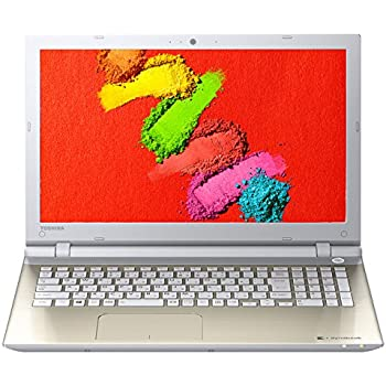東芝 dynabook AZ65/TGSD 東芝Webオリジナルモデル (Windows 10 Home/Office Home and Business Premium プラス Office 365 サービス /15.6型/core i7/256GB SSD/NVIDIA GeForce 930M/サテンゴールド) PAZ65TG-BWB