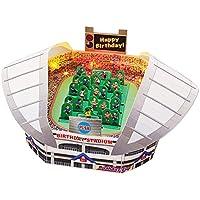サンリオ 誕生日カード ライト&メロディ 立体 サッカースタジアム P465