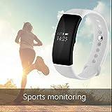 ランニングGPSスマート腕時計心拍モニター デジタルウォッチ 睡眠モニター機能 座りがち注意 カロリー歩数 簡潔美観のインタフェース 電話SMS通知 スポーツ腕時計Samsung LG iPhone HTC Sony